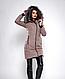 Зимняя женская молодежная куртка, цвет бордо. Размеры М,  XXL., фото 4