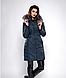 Зимняя женская молодежная куртка, цвет бордо. Размеры М,  XXL., фото 5