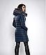 Зимняя женская молодежная куртка, цвет бордо. Размеры М,  XXL., фото 6
