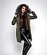 Зимняя женская молодежная куртка, цвет бордо. Размеры М,  XXL., фото 7