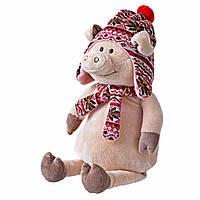 Свинка в шапке, 48 см, «Same Toy» (THT719), фото 1
