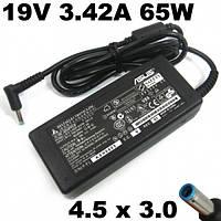 Блок питания для ноутбука 19V ASUS 19V 3.42A 65W (4.5*3.0+Pin)