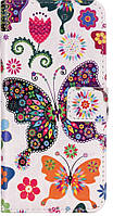 Чехол-книжка для Apple iPhone 7 / 8 с визитницей  (бабочки)