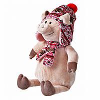 Свинка в шапке, 38 см, «Same Toy» (THT720), фото 1