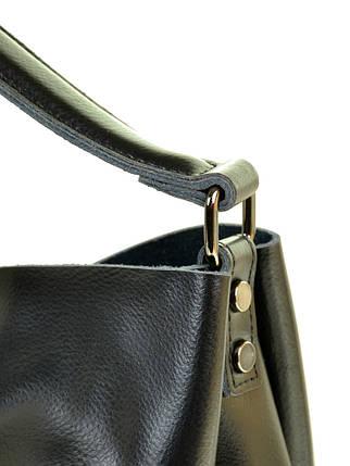 Сумка Женская Классическая кожа ALEX RAI 10-04 1384 black, фото 2