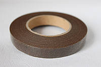 Флористическая тейп-лента коричневого цвета ширина 12 мм