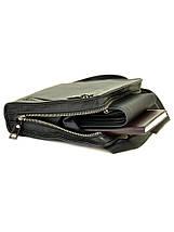 Мужская сумка планшет через плечо кожаный BRETTON BE 2000-10 black, фото 3