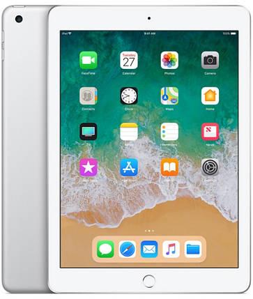 Планшет Apple iPad 2018 9.7 32GB Wi-Fi Silver (MR7G2), фото 2