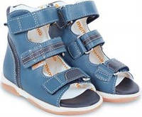 Босоножки детские. Ортопедическая обувь MEMO, модель VIRTUS (22-29)