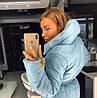 Куртка - снуд, мводонепроницаемое лаке утеплитель силикон-250. Разные цвета. (21435), фото 2