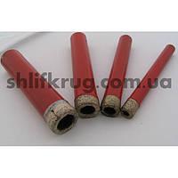 Сверла трубчатые со спеченным алмазоносным слоем