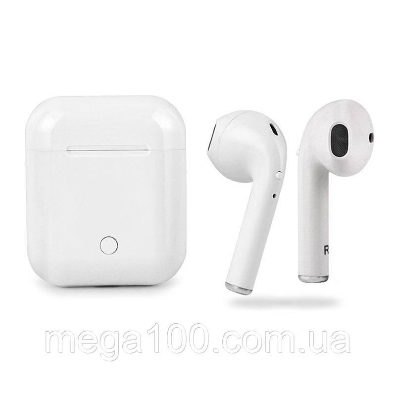 Bluetooth Наушники TWS i7S белый цвет Кейс HBQ Беспроводные Apple Iphone Airpods