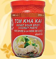 Паста для супа, Tom Kha Kai, Cock Brand, Tom Kha Kai Paste, 227g, R, Во, Дж