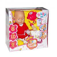 """Пупс функциональный """"Baby Doll"""" 058-5 30 см (49728)"""
