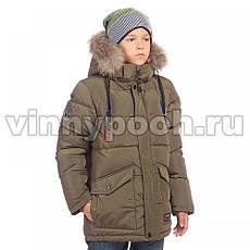 Детская зимняя куртка для мальчика от KIKO 5006, 134-164, фото 3