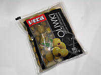 Оливки Vera зеленые без косточки 180г , фото 1