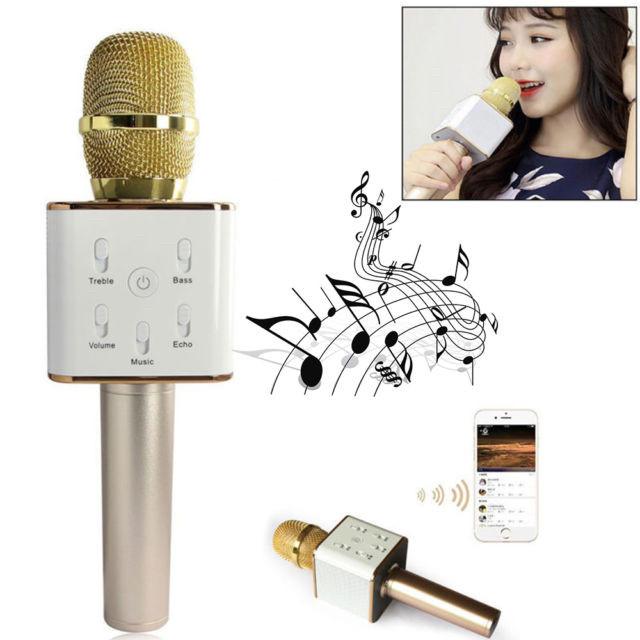 Беспроводной Микрофон - караоке с встроенным динамиком Q9