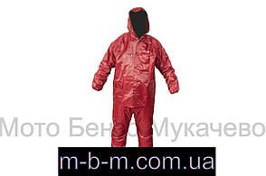 Костюм дощовик для їзди на скутері червоний, xxl Q