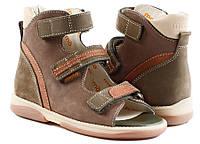Босоножки детские. Ортопедическая обувь MEMO, модель VIRTUS, кор-зел.(22-29), фото 1