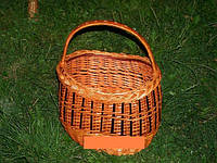 Корзина из лозы плетеная