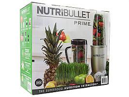 NutriBullet PRIME 12-предметов высокоскоростной блендер 1000Вт, металл кухонный комбайнер