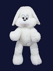 Мягкая игрушка Заяц Снежок 65 см, фото 3