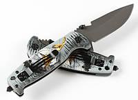 Складной полуавтоматический нож DPX DA15C открывалка, стеклобой, фото 1
