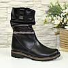 """Зимние кожаные женские ботинки от производителя  ТМ """"Maestro"""", фото 2"""