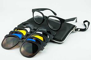 Очки с насадками на магните 9010 Eldorado