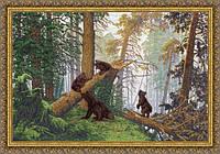 Набор для вышивки Золотое Руно ПФ-008 Утро в сосновом лесу (Шишкин И,И,)