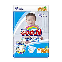 Подгузники GOO.N для детей 6-11 кг (размер M, на липучках, унисекс, 64 шт.) ТМ Goo.N 853622