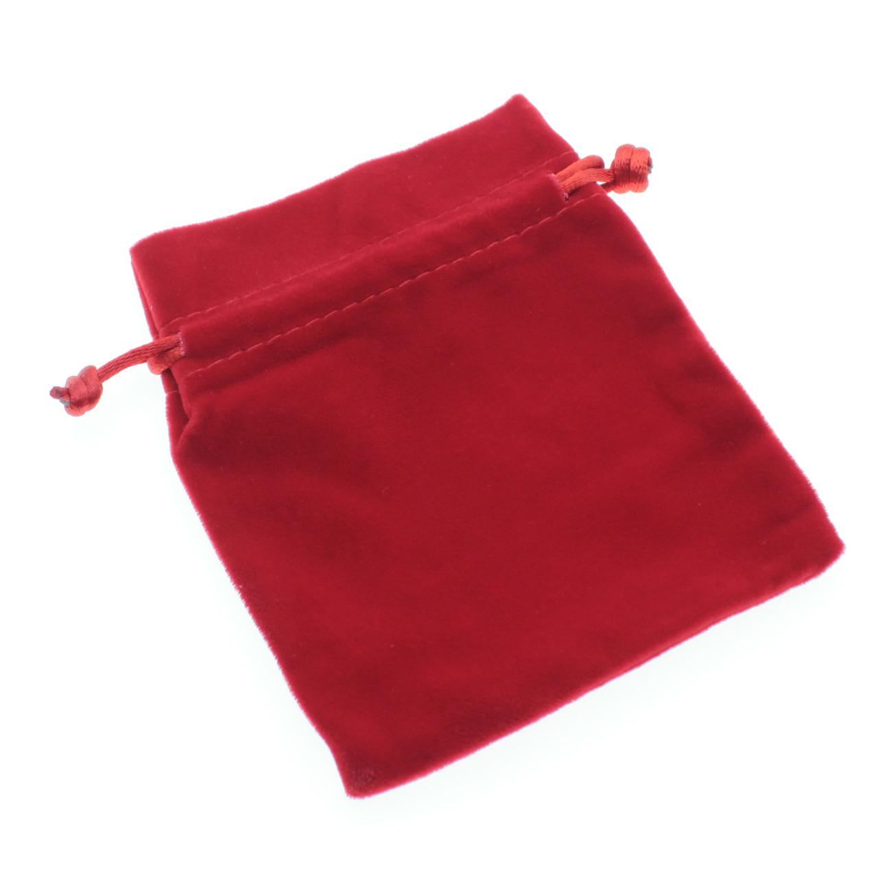 Красный 100*110 мм бархат