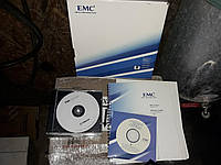 Диск и книжки EMC