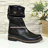 Ботинки женские зимние кожаные, фото 2