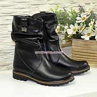 Ботинки женские зимние кожаные, фото 1