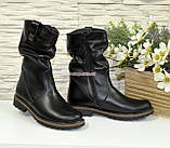 Ботинки женские зимние кожаные, фото 4
