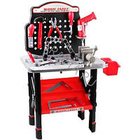 Игровой набор инструментов с верстаком 16554B