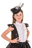 Карнавальный костюм для девочки Сорока-белобока, рост 115-125 см