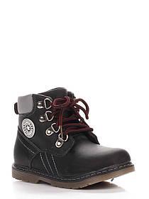 Ботинки Леопард 22(р) Черные KA50-1