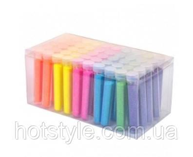 Глиттер декоративные блестки, неоновый 50x5г 6 цветов, для ногтей