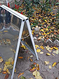 Штендер А-образный рекламный щит, уличная реклама, спотыкач 900*600mm, фото 3