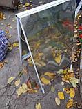 Штендер А-образный рекламный щит, уличная реклама, спотыкач 900*600mm, фото 2