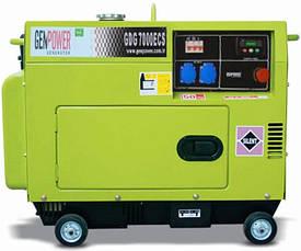 Генератор дизельный Genpower GDG 7000ECS с АВР 5,5(7,0)кВт