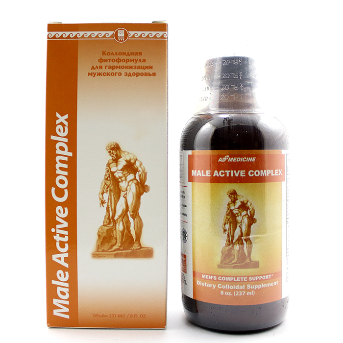 Мэйл Эктив Комплекс (Male Active Complex) США, 237 мл - для укрепления мужского здоровья Арго