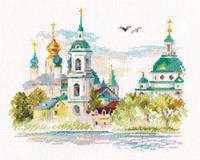 Набор для вышивки крестом Алиса 3-23 Ростов Великий. Спасо-Яковлевский монастырь