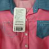 Набор детский для девочек 7-9 лет рубашка и лосины  Розовая Турция. , фото 4
