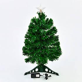 Искусственная елка с подсветкой 60 см 55 веток Зеленый (29332)