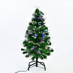 Искусственная елка с подсветкой 90 см 80 веток Зеленый (29328)