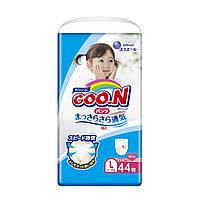 Трусики-подгузники GOO.N для девочек 9-14 кг (размер L, 44 шт.) ТМ Goo.N 853628