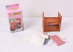 Мебель для флоксовых животных Happy Family 012-02B Кровать двухъярусная (аналог Sylvanian Families)